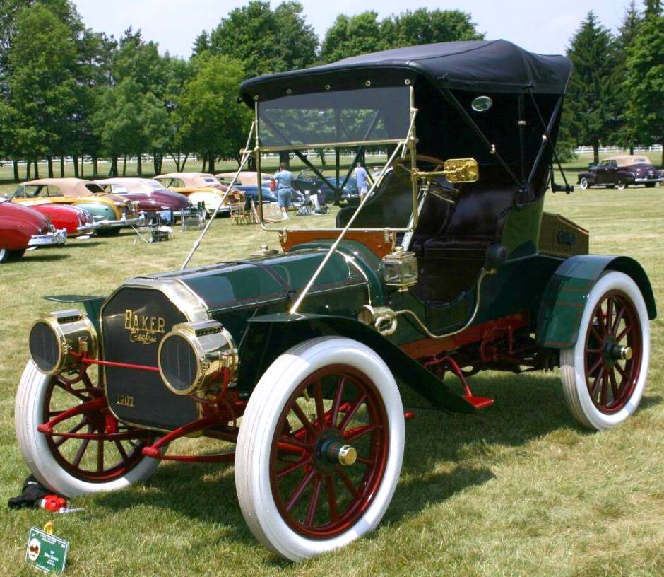 1907 Baker Electric Car