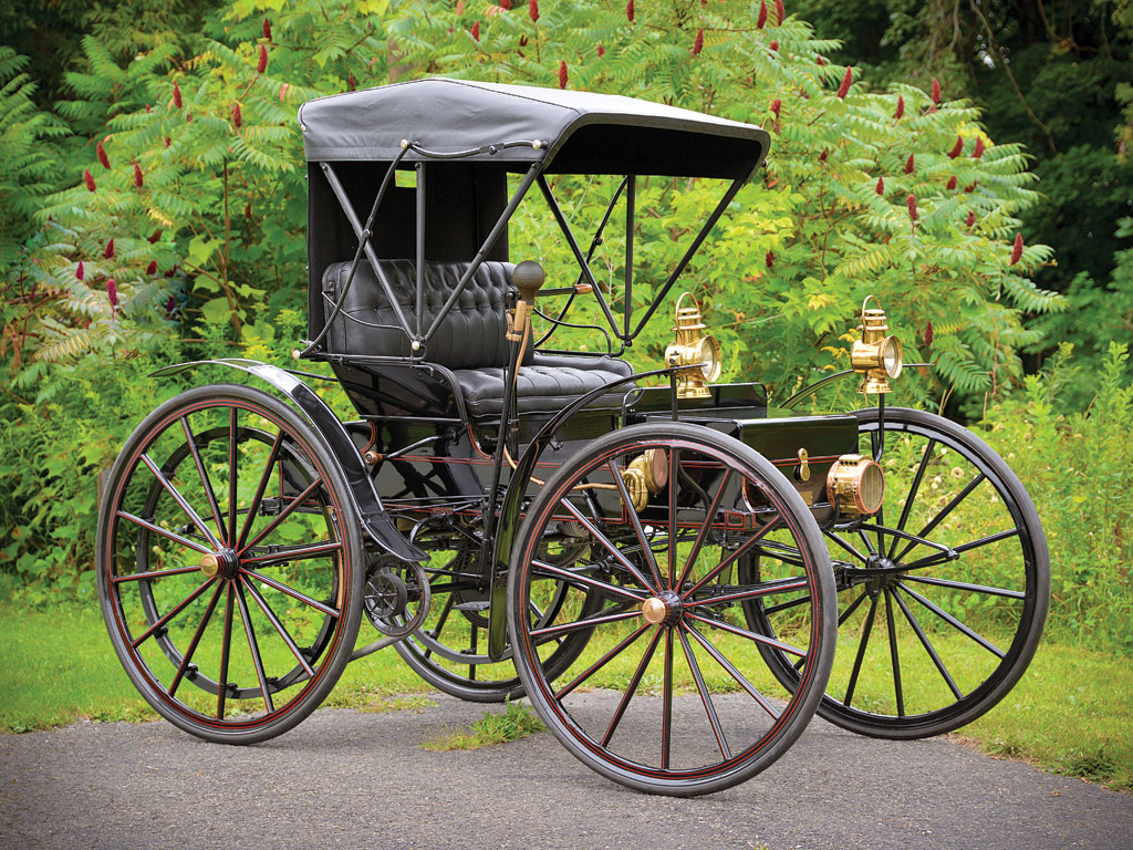 1908 Holsman Highwheeler Electric Car