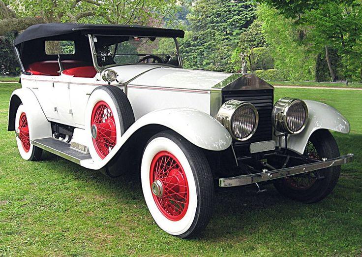 1920s Rolls Royce Silver Ghost Torpedo