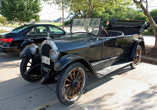1921 Oldsmobile 43A Series Touring