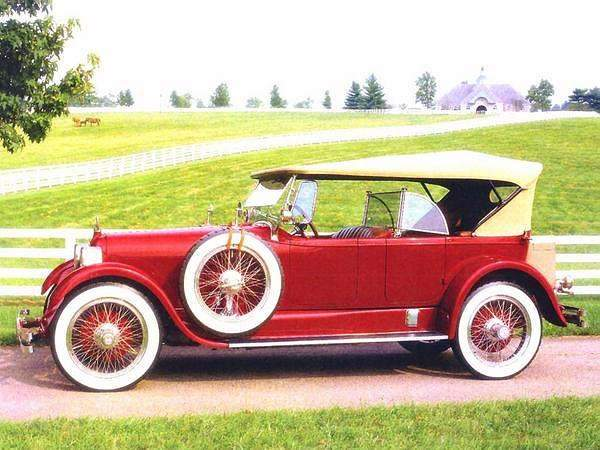 1923 Duesenberg Model A Touring Car