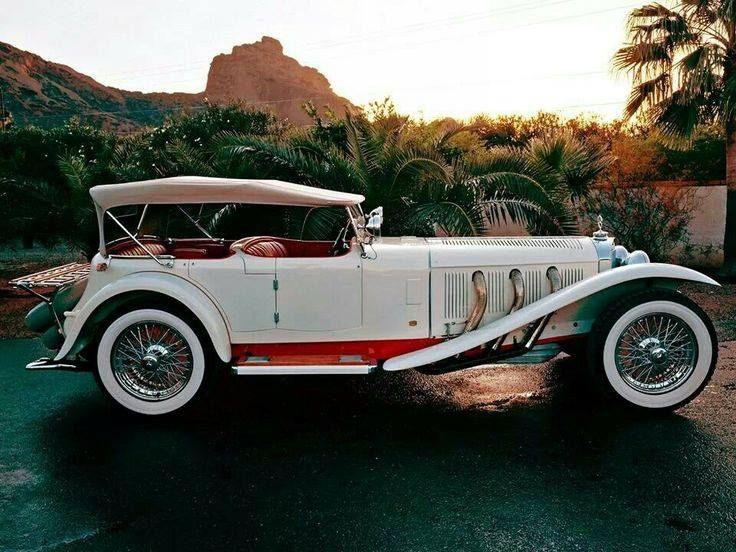 1927 Mercedes Supercharged Type-S
