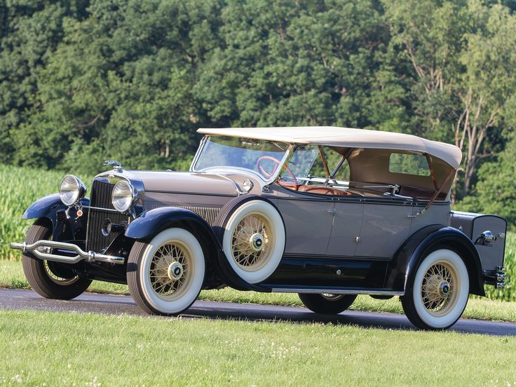 1929 Lincoln Model-L Dual Cowl Phaeton