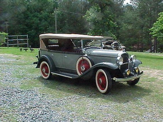 1931 Plymouth Model PA Touring Car