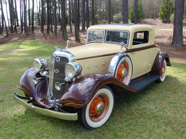 1933 Chrysler CT Business Coupe