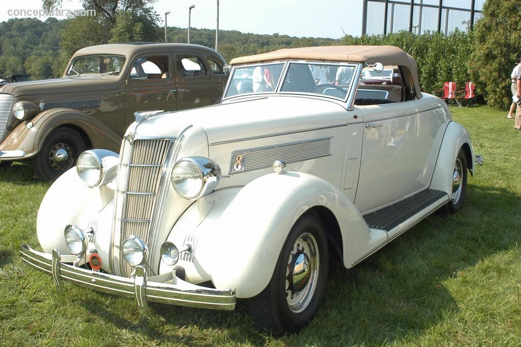 1935 Chrysler Airstream Convertible
