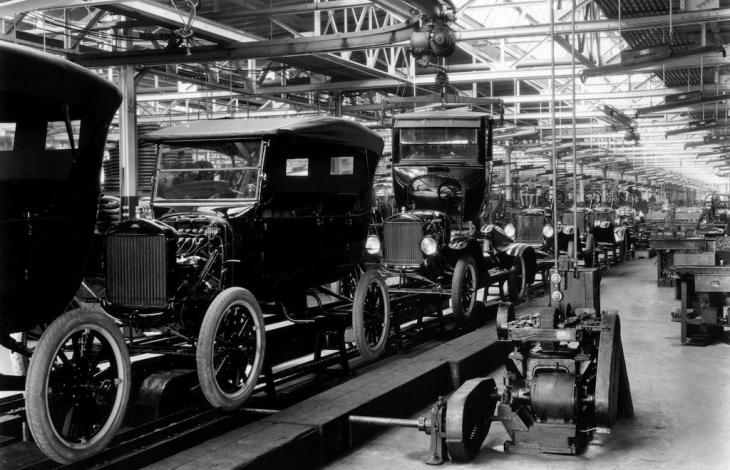 Ford Motors Assembly Line