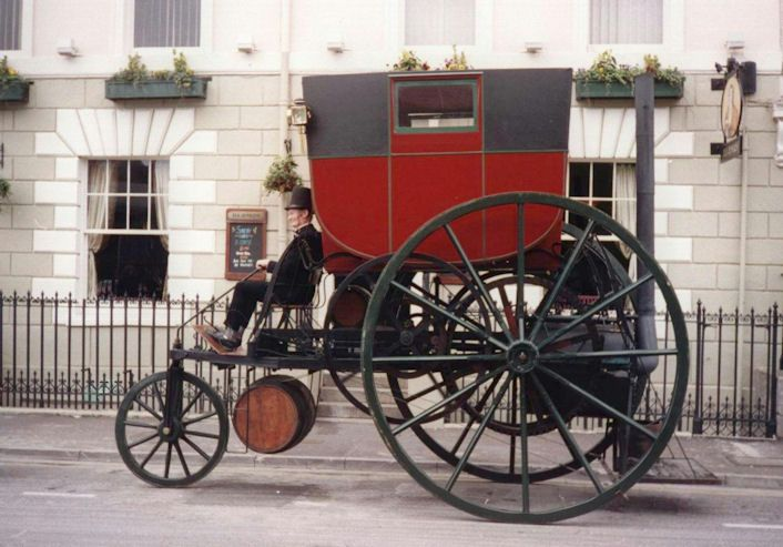 Richard Trevithick's Electric Carriage (a replica)