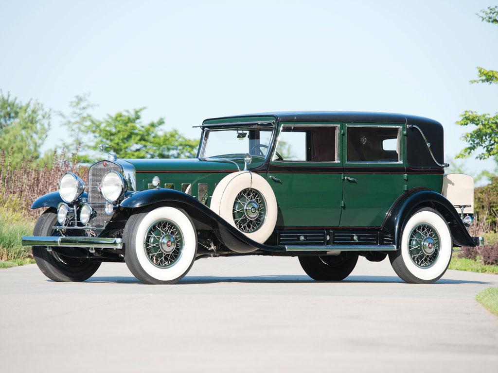 1930 Cadillac V16 Madame X Sedan Cabriolet