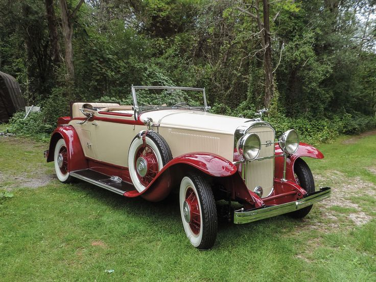 1931 Maclaughlin-Buick Series 90 Convertible Coupe