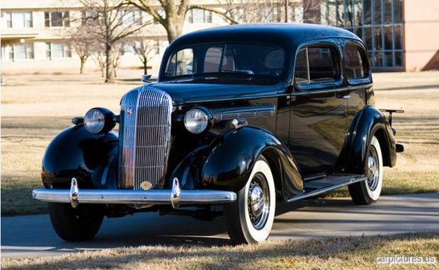 1936 Buick Special Model 48 2-Door Touring Sedan