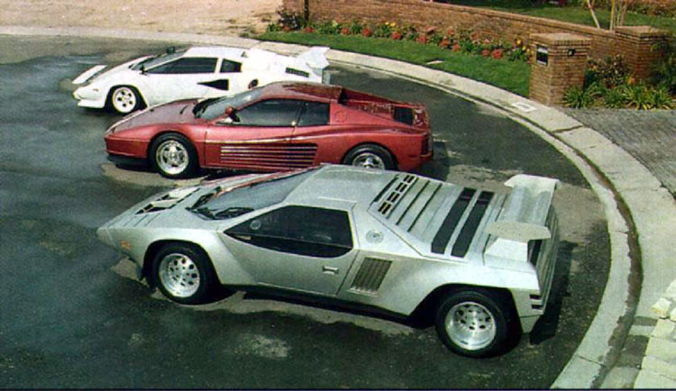 1973 1989 Vector W2 Prototype Supercars Net