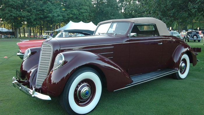 2011 Concours d'Elegance of America at St. John's