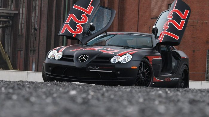 2011 Edo Compeition SLR McLaren Black Arrow