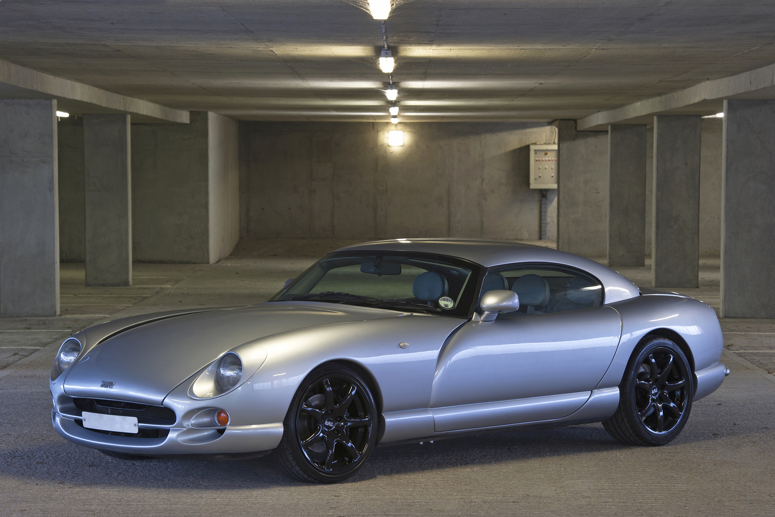 Picture shows: TVR Cerbera