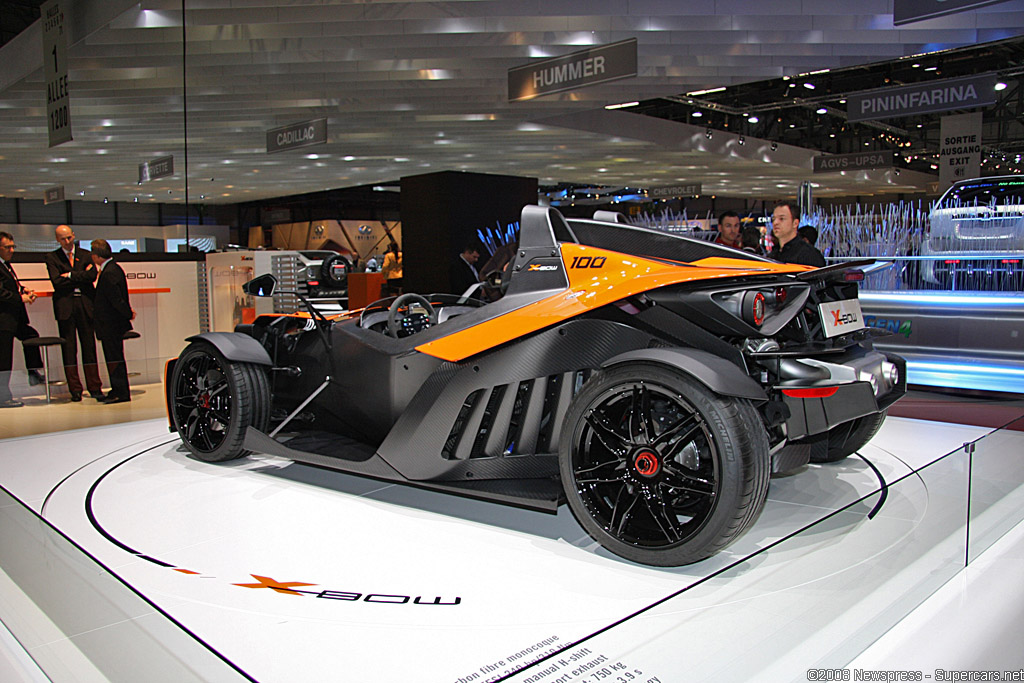KTM X-Bow Image Gallery