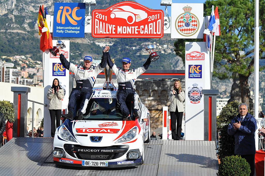 Bryan BouffIer (FRA) Xavier Panseri (FRA) Peugeot 207 S2000, race winner