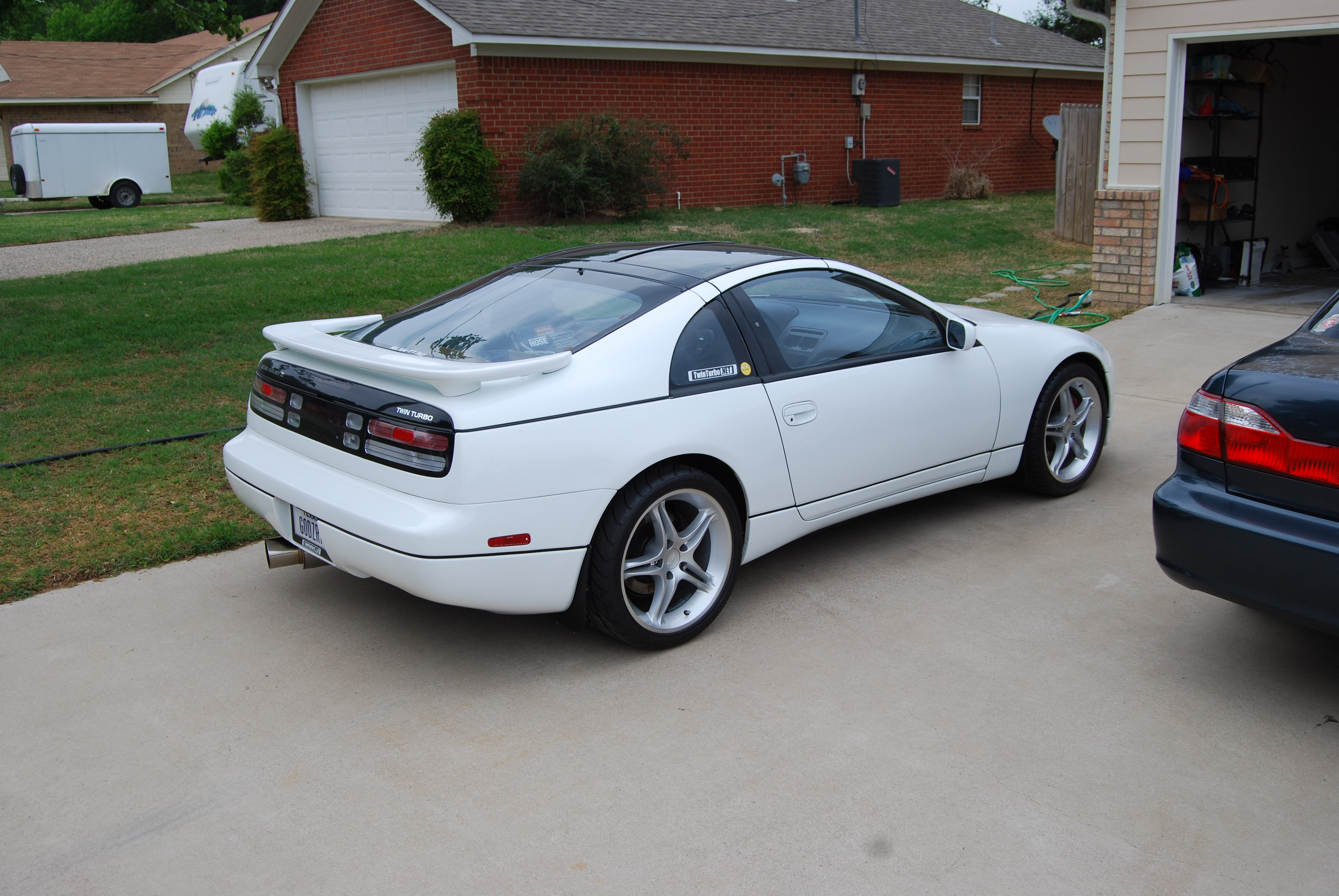 nissan 300zx slicktop weight loss