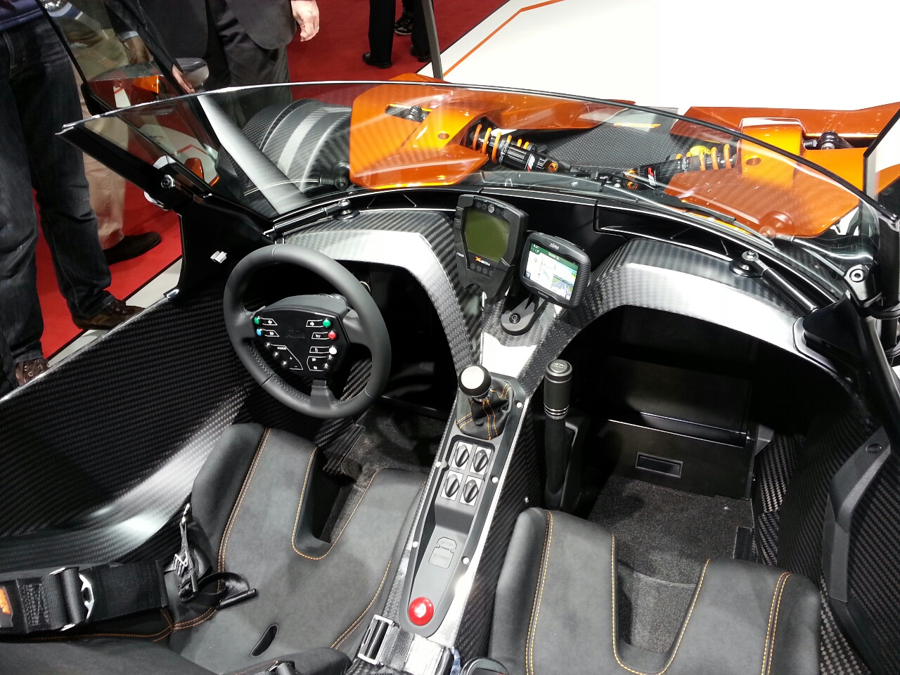 ktm x bow gt geneva motor show 4. Black Bedroom Furniture Sets. Home Design Ideas