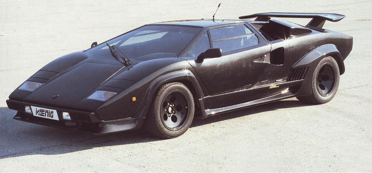 1986 Koenig-Specials Countach Turbo