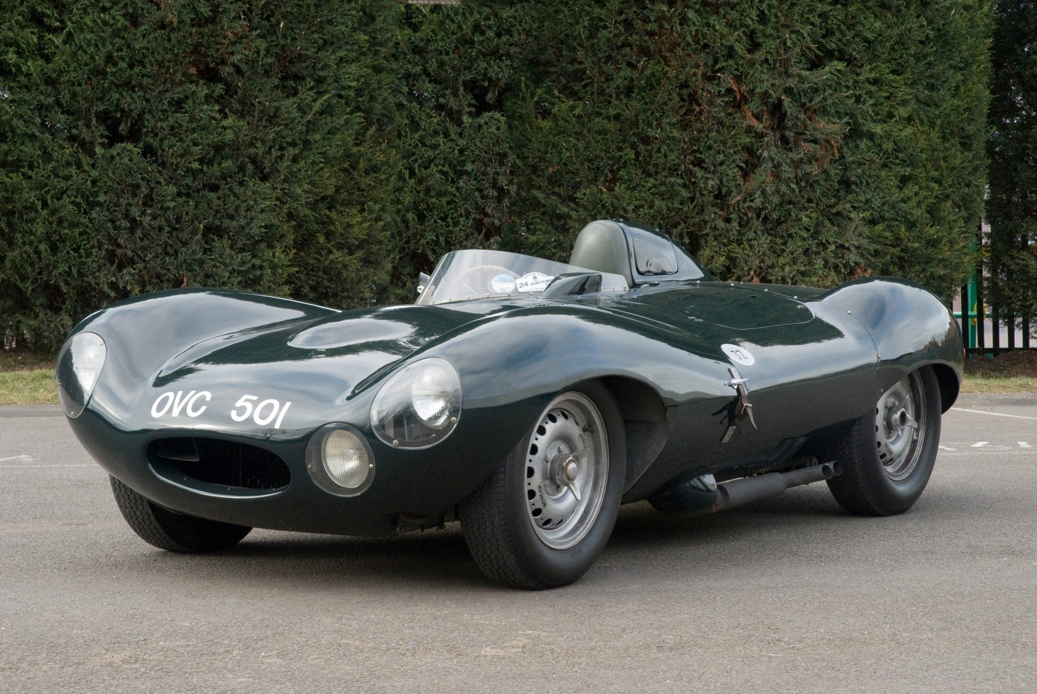 1954 Jaguar D-Type Gallery