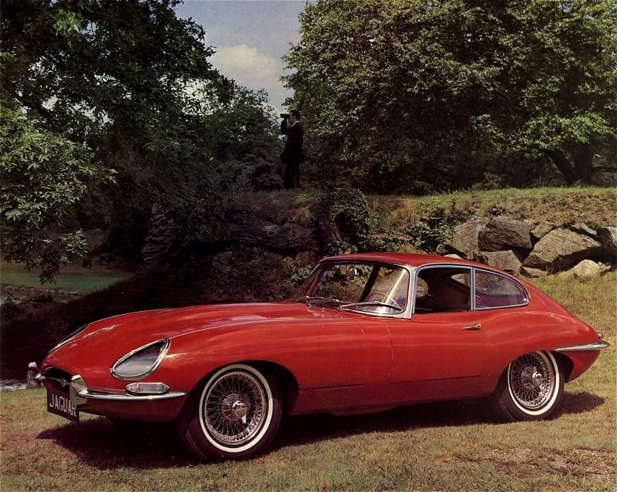1965 jaguar e type 4 2 coupe. Black Bedroom Furniture Sets. Home Design Ideas