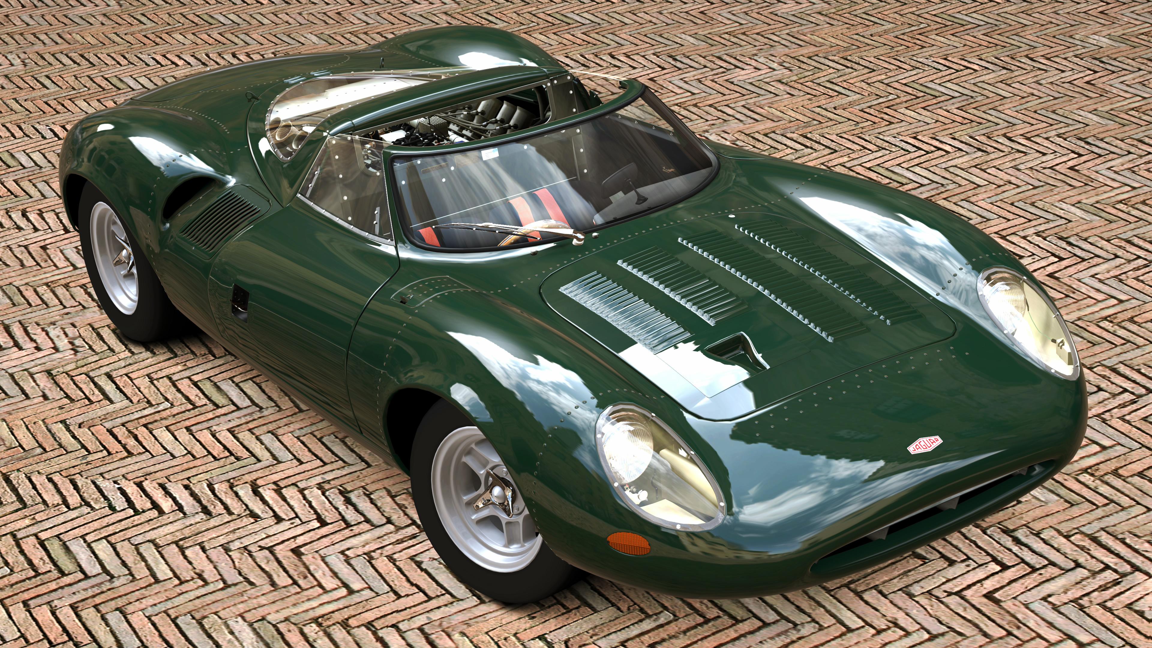 Jaguar Race Car For Sale