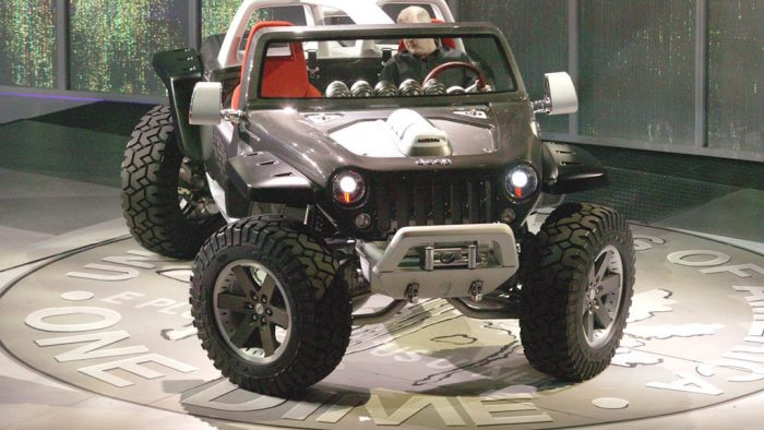 2005 Jeep Hurricane