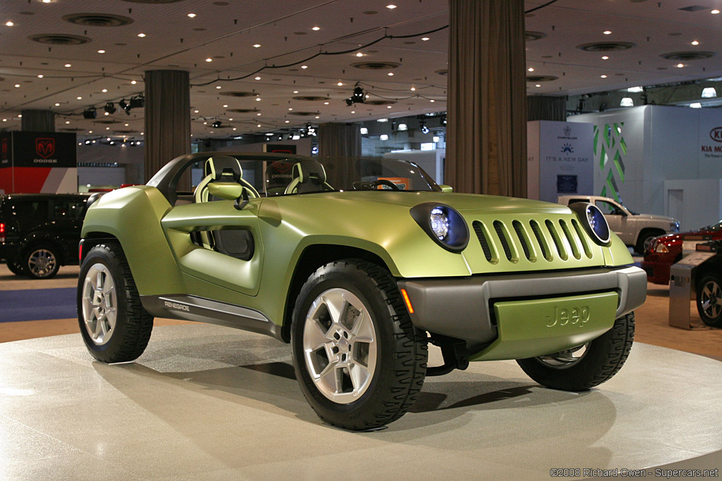 2008 Jeep Renegade Concept Supercars Net