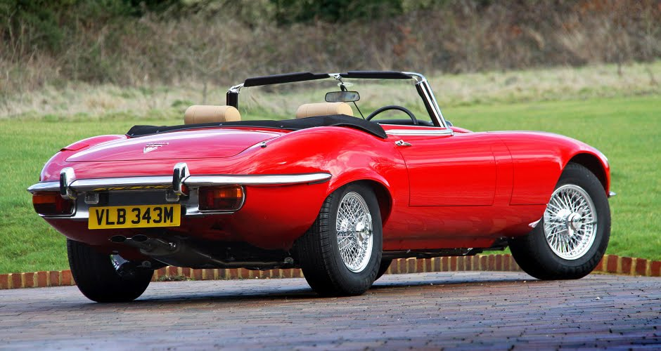 Jaguar E-Type Series III Roadster Gallery
