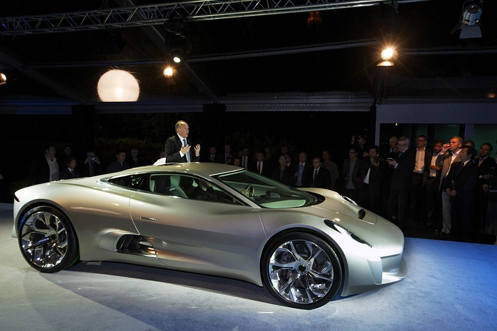 Jaguar C-X75 Gallery