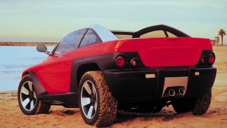 1998 Jeep Jeepster Concept   SuperCarsnet