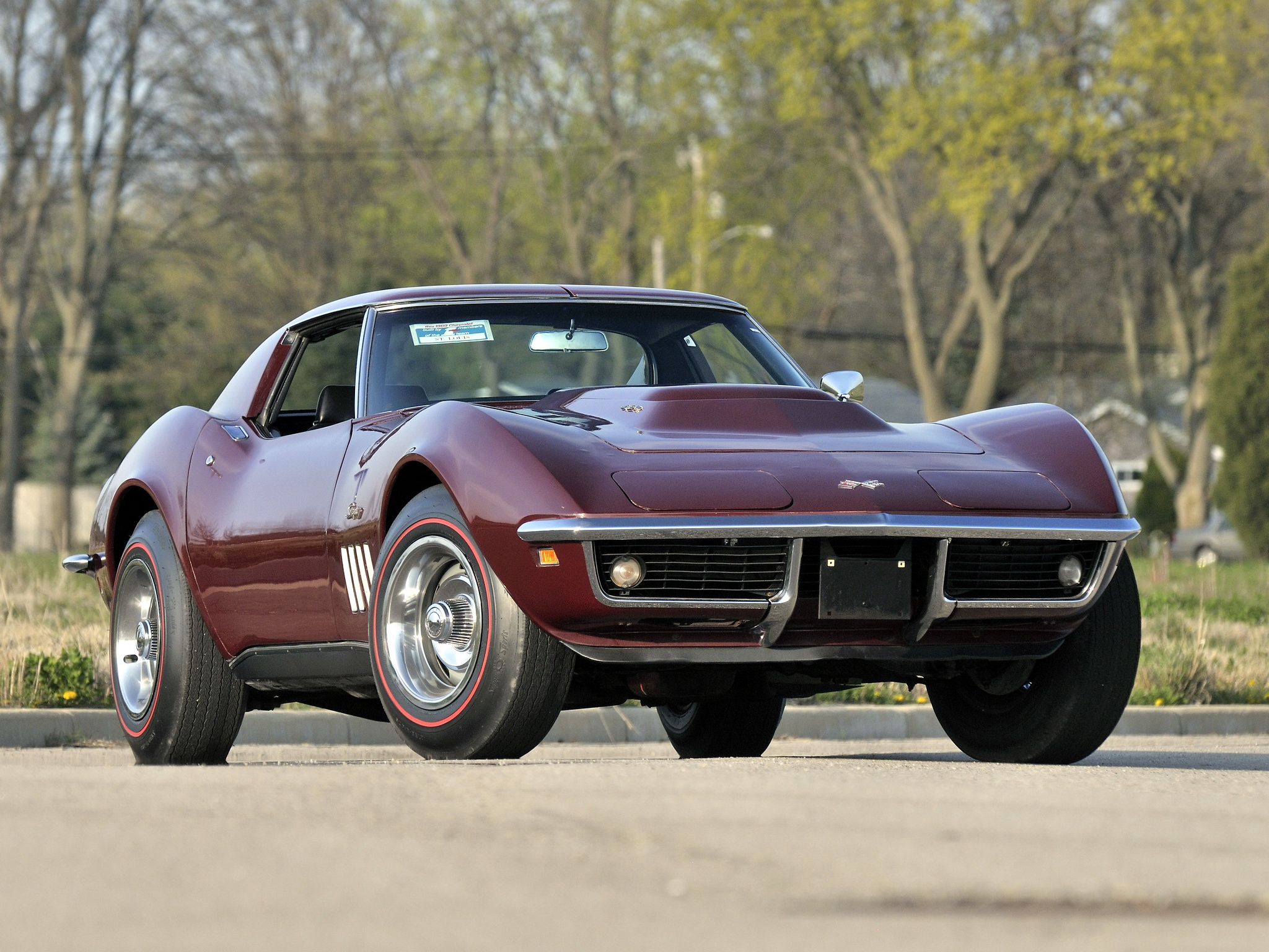 1968 chevrolet corvette stingray l88 coupe gallery. Black Bedroom Furniture Sets. Home Design Ideas