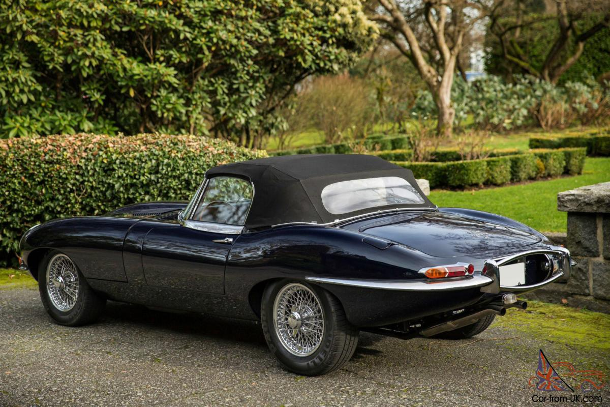 1965 Jaguar E-Type 4.2 Roadster Gallery