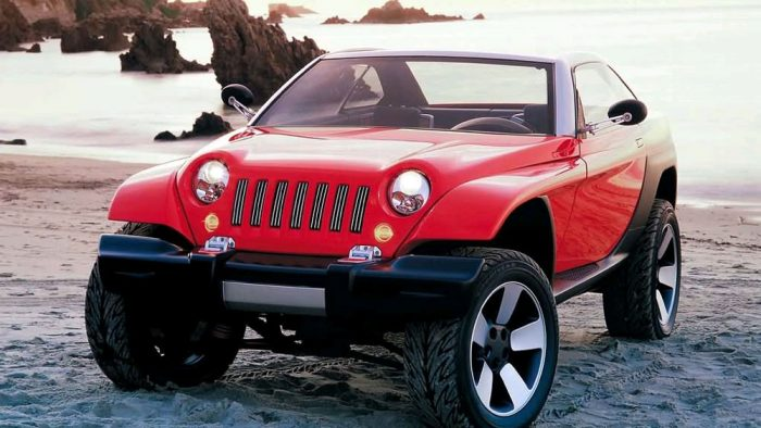 1998 Jeep Jeepster Concept
