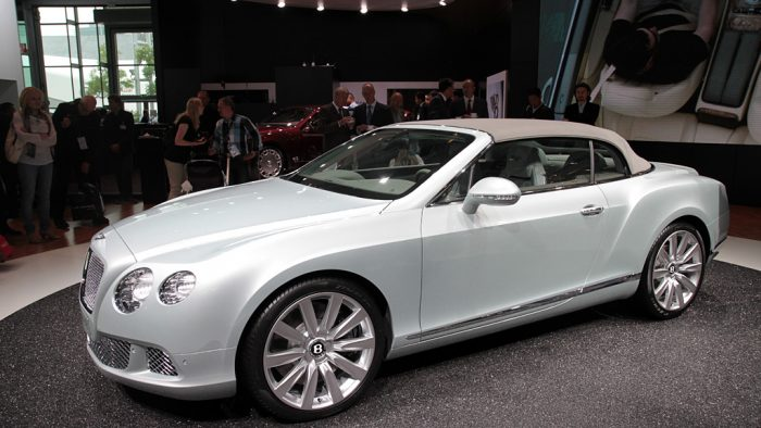 2012 Bentley Continental GTC Gallery