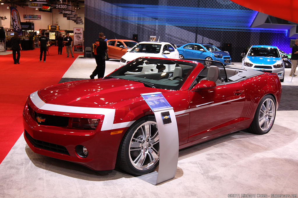 2011 Chevrolet Camaro Red Zone Concept Design Ideas
