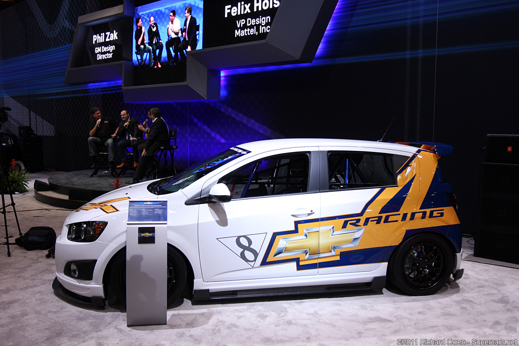2011 Chevrolet Sonic Super 4 Concept Gallery