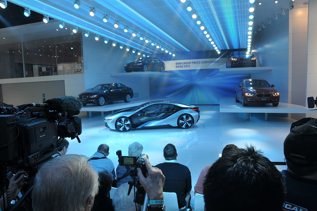 2011 BMW i8 Concept Gallery