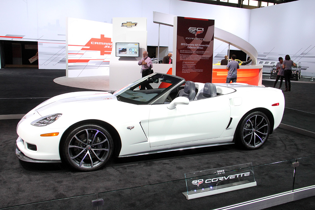 2013 Chevrolet Corvette 427 Convertible 60th Anniversar