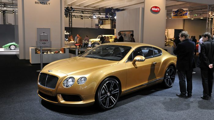 2012 Bentley Continental GT V8 Gallery