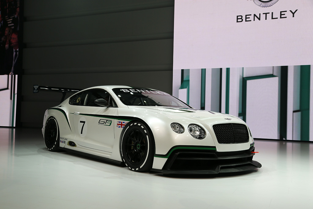 2012 Bentley Continental Gt3 Concept Gallery Gallery Supercars