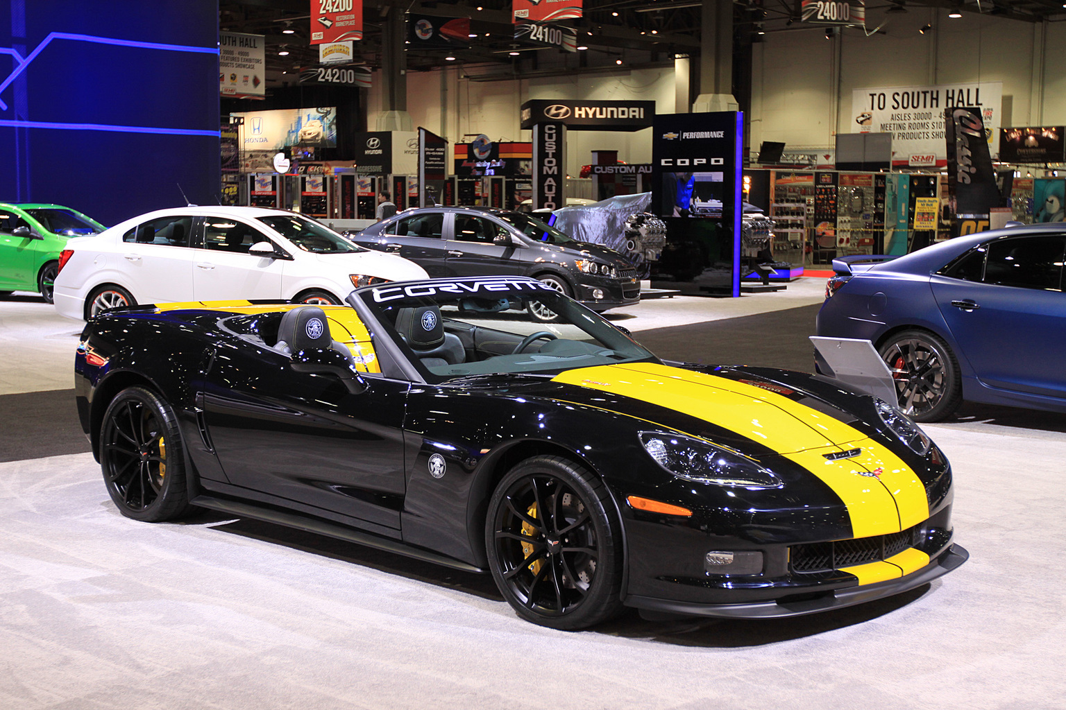 2013 chevrolet guy fieri 39 s corvette 427 convertible. Black Bedroom Furniture Sets. Home Design Ideas