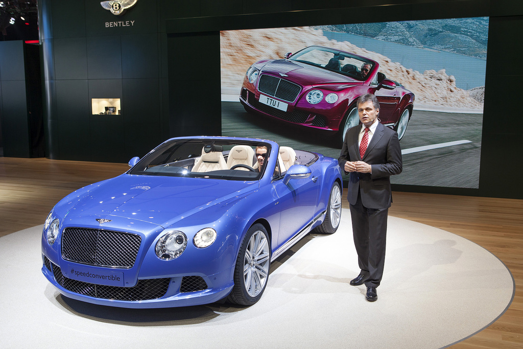 2013 Bentley Continental GT Speed Convertible Gallery