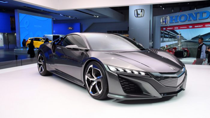 2012 Acura NSX Concept Gallery
