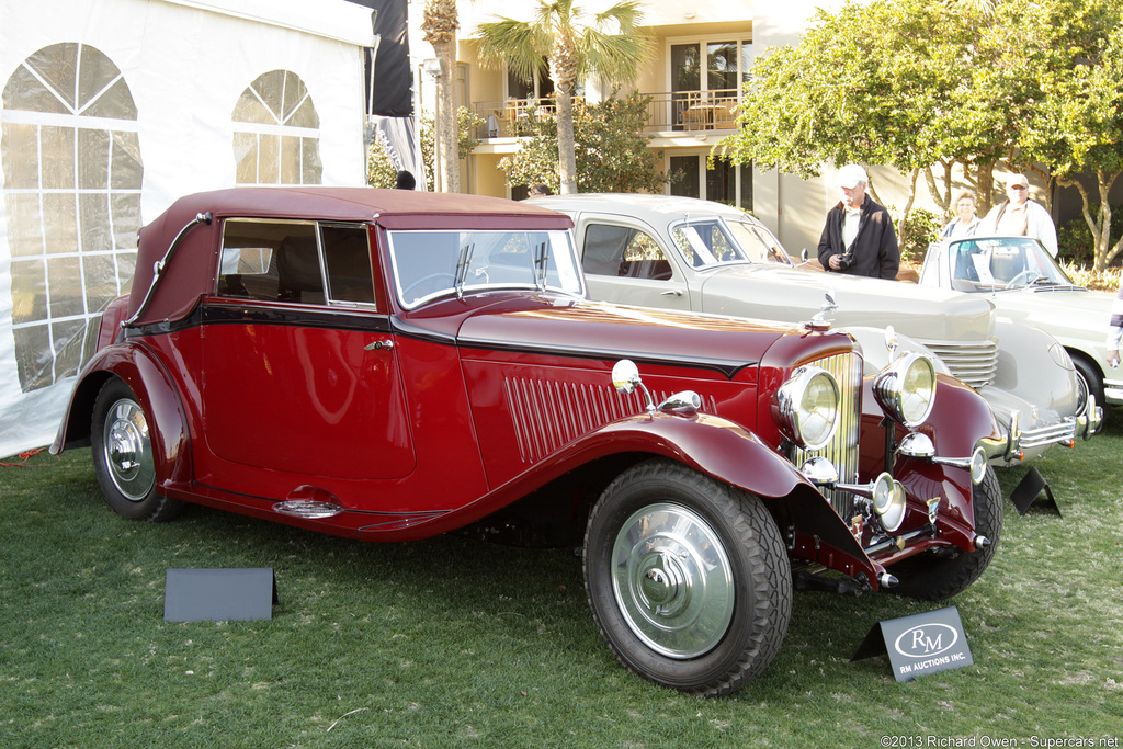 1934→1936 Bentley 3½ Litre