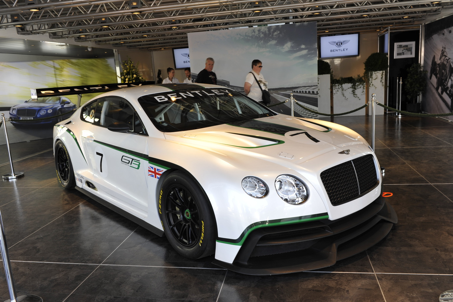 2012 Bentley Continental GT3 concept Gallery