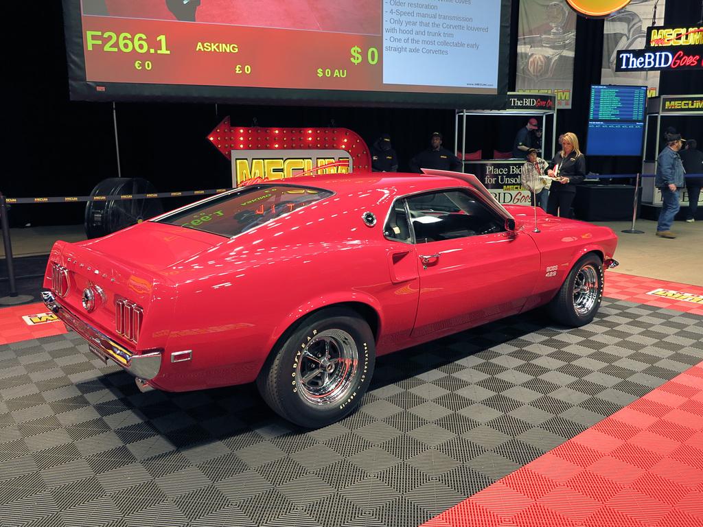 1969 Ford Mustang Boss 429 Pics Information Fastback