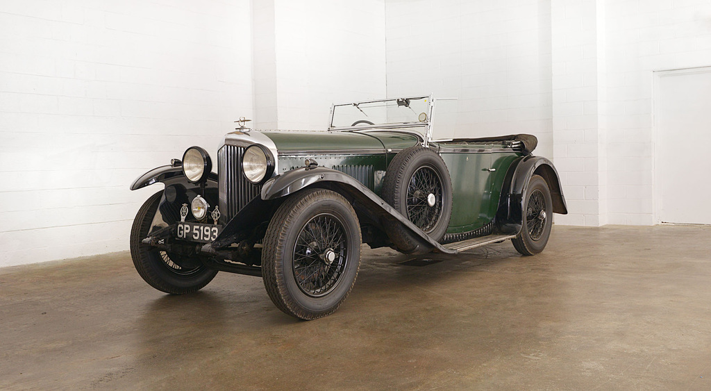 1931→1933 Bentley 4 Litre