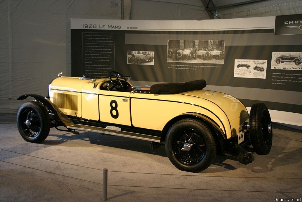 1928 Chrysler 72 Le Mans